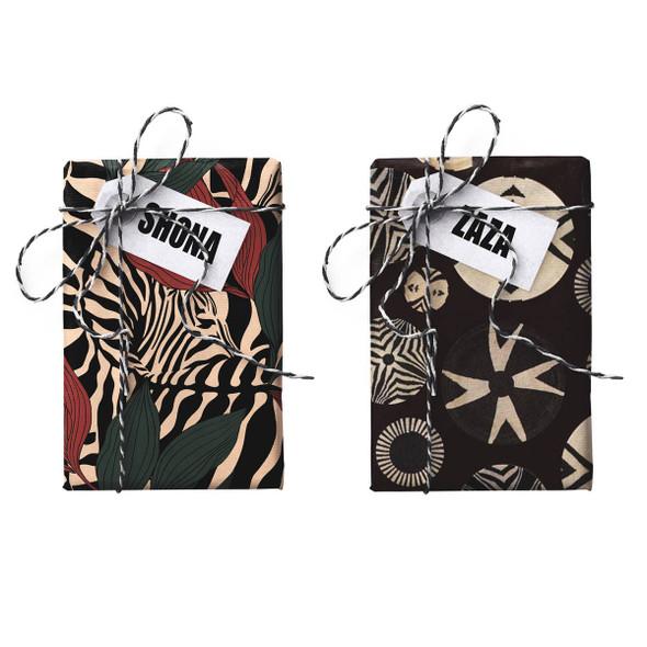 Shona-Zaza Double-sided Stone Gift Wrapping Paper