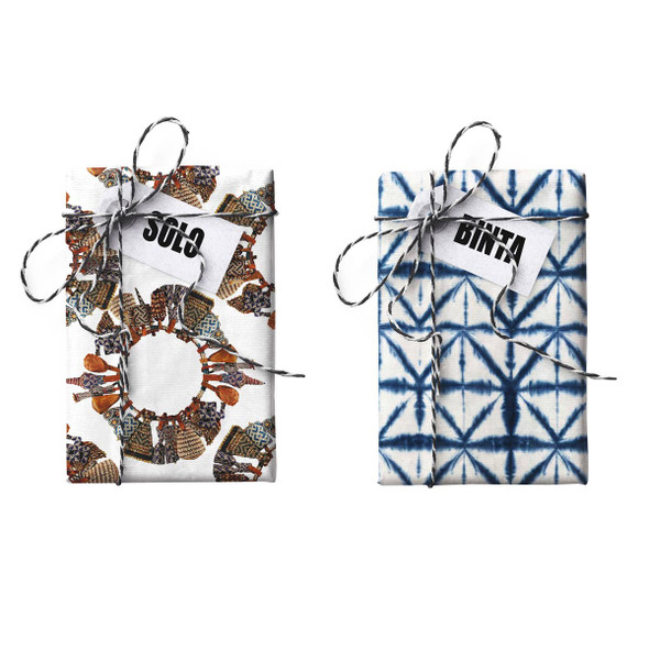 Binta-Solo Doubled-sided Stone Gift Wrapping Paper