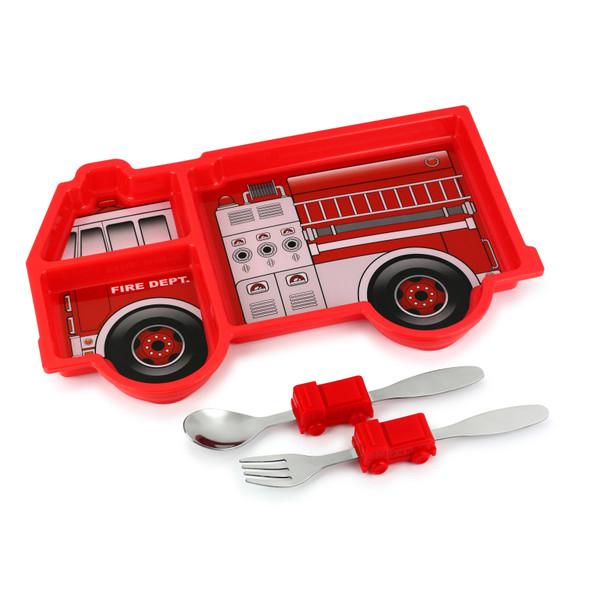 Me Time Fire Engine Meal Set