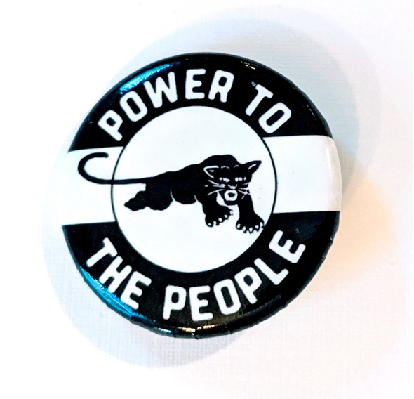 Button - Power to the People