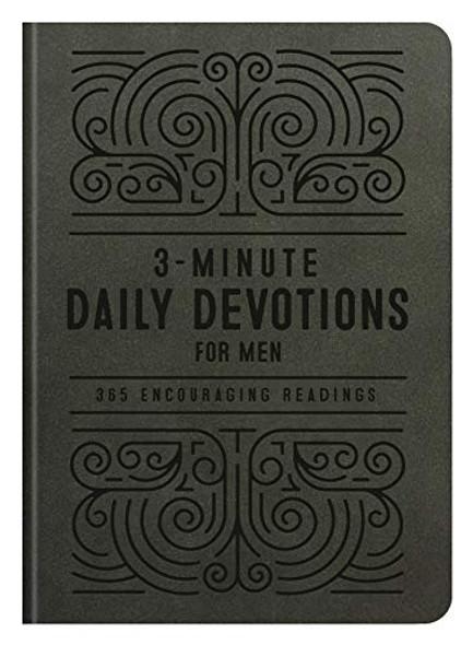 3-MINUTE DAILY DEVOTIONS FOR MEN: 365 ENCOURAGING READINGS (3-MINUTE DEVOTIONS)