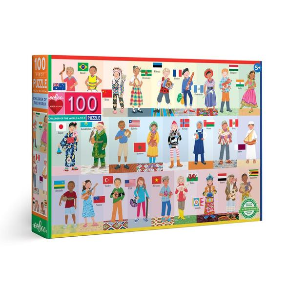 Children of the World 100 Piece Puzzle
