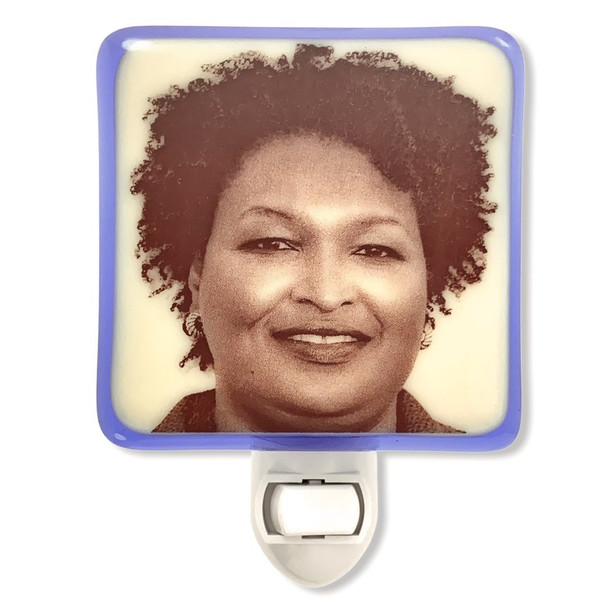 Stacey Abrams Night Light