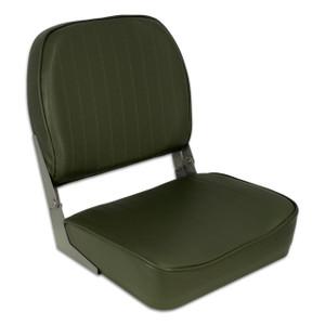 Springfield Marine | Fold Down Boat Seat | Army Green (1040622)