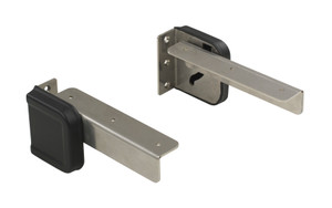 Springfield Marine | Spring-Loaded Fold Down Mounting Hinges |  Stainless Steel(1080031)
