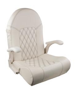 Springfield Marine | Royal  Seat | Off White / Black Stitching (1040800-NB)