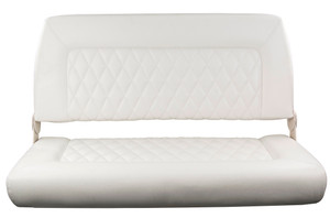 Springfield Marine | Double Wide Folding Seat | Off White (1042039)