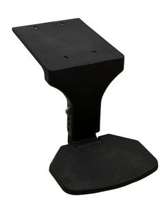 Springfield Marine | Chair Mounted Flip Up Footrest | Black (1580048)