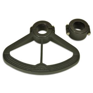 "Springfield Marine | Footrest for 2-7/8"" Diameter Posts | Black (1580017-BLK)"