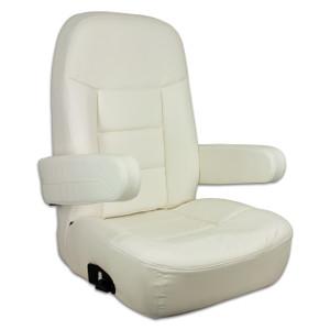 Springfield Marine | Mariner Pilot Helm Seat | Off White (1042080-W)