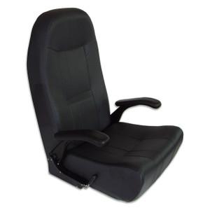 Springfield Marine | Norwegian Helm Seat | Black (1042066)
