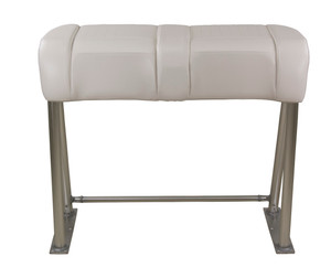 Springfield Marine | Leaning Post Bench Seat | Off-White (1080080)