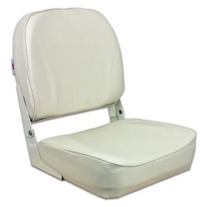 Springfield Marine   Fold Down Boat Seat   Off White (1040629)