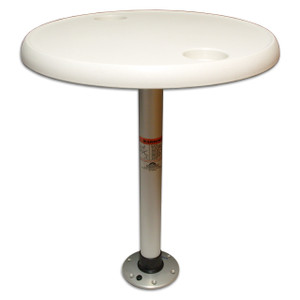 Thread-Lock Table Package with Round Table Top