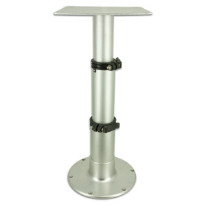 Springfield Marine | Adjustable Table Pedestal / 3 Stage Table Pedestal - (1660231) | 14-28 inches