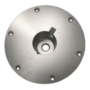 "Springfield Marine | Taper-Lock | 9"" Anodized Floor Base | Round (3600002-AB)"