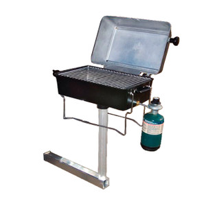 Springfield Marine   BBQ Grill with Hitch Mount