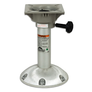 "Springfield Marine | Explorer Series | 12"" Non-Locking Pedestal with Seat Mount 