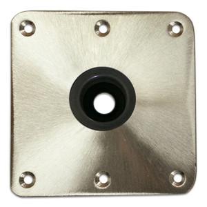Springfield Marine   Spring-Lock Series   Stainless Steel Satin Floor Base (3640013-CL)