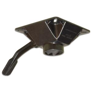 Springfield Marine | Spring-Lock Series | Locking Swivel Seat Mount | Black Powder Coat (3680203)
