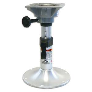 "Springfield Marine | Clipper Series | Manual Adjustable Height Pedestal with Swivel Mount | 13"" - 18"" 