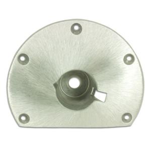 Springfield Marine | Taper-Lock | 9 inch Flat Side Floor Base (1600005)