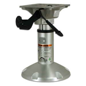 "Springfield Marine | Mainstay Series |Power Rise Pedestal with Seat Mount 12.25"" to 15.75"" (1250200-L)"