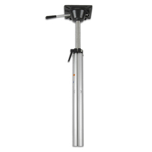 Springfield Marine | Plug-In Series | Keyed Power Rise Stand-Up Pedestal | 22.75 - 29 inches (1300902)