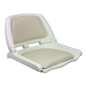 Springfield Marine   Traveler Fold Down Seat   Off White (1061104-C)