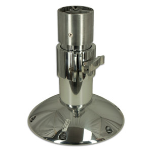 "Springfield Marine | Mainstay Series | 4"" Adjustable Pedestal 13.5"" to 18"" (1270340-P)"