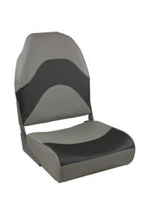 Springfield Marine | Premium Folding Seat | Gray & Charcoal (1062034)