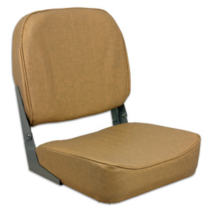 Springfield Marine | Fold Down Boat Seat | Tan (1040628)
