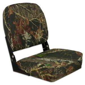 Springfield Marine | Fold Down Boat Seat | Mossy Oak Break-Up Country (1040626)