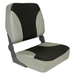Springfield Marine | Fold Down XXL Seat | Gray & Charcoal (1040693)