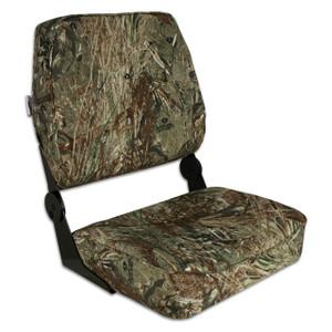 Springfield Marine | Fold Down XXL Boat Seat | Mossy Oak Duck Blind (1040697)