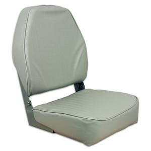 Springfield Marine |  Fold Down HB Seat | Gray (1040643)