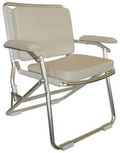 Springfield Marine | Euro Folding Deck Chair | White (1080121)