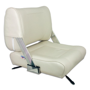 Springfield Marine | Flip Back Seat with Slide | Off White (1042046)