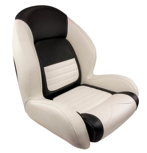 Springfield Marine   Ozark Sport II Seat   White & Black (1043334)
