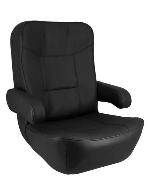 Springfield Marine   Wheelhouse Helm Seat   Black (1042120-B)