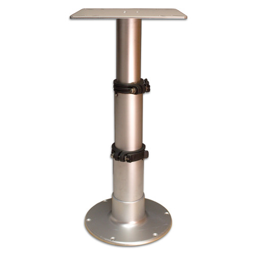 Springfield Marine | Adjustable Table Pedestal / 3 Stage Table Pedestal (1660230) | 12.725-28 inches