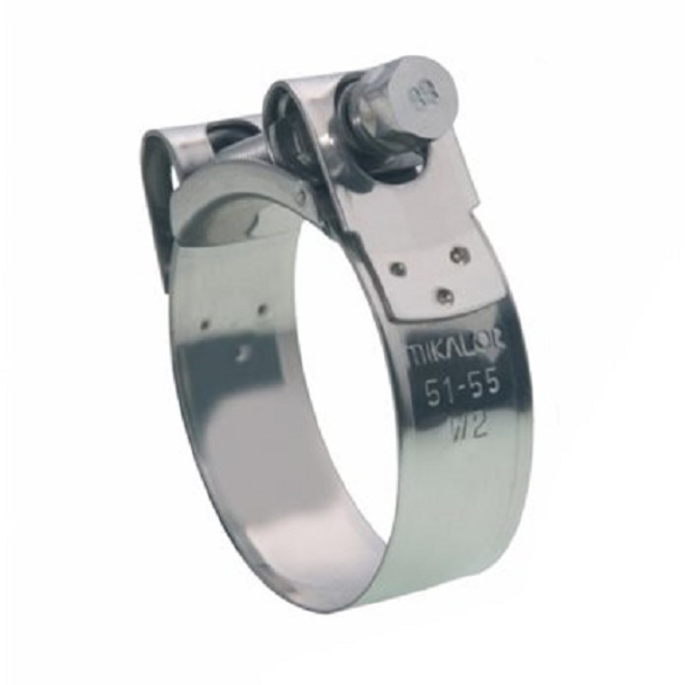 Mikalor Stainless Steel Hose Clamp With Stainless Steel Screw