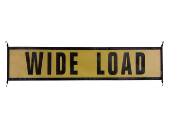 Wide Load Signs