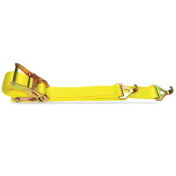 12 ft. A/E/F Logistic Ratchet Strap w/ Wire Hooks