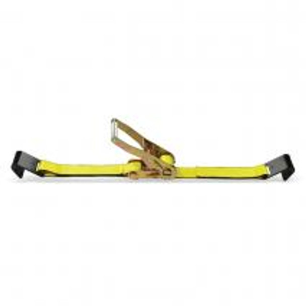 2 in. x 30 ft. Flat Hook Ratchet Strap Assembly