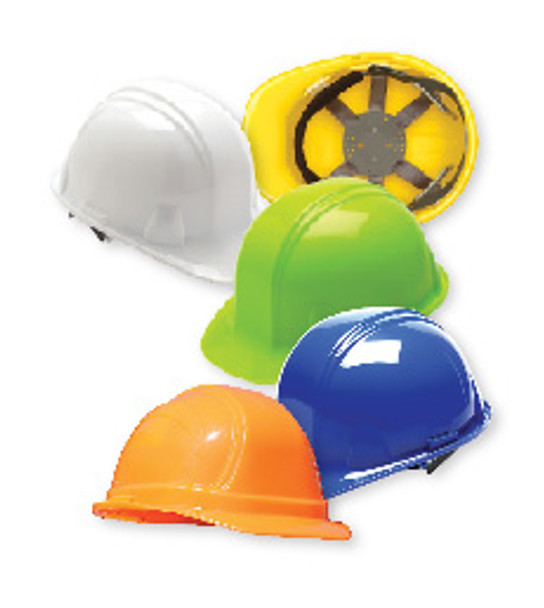Hi-Viz Lime Low Profile Hard Hat