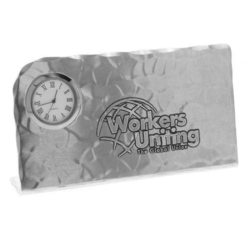 Custom Aluminum Desk Clock
