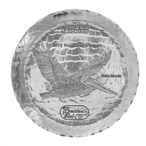 """Sewickely Aluminum 8"""" Recognition Plate"""