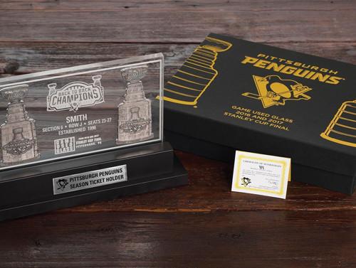 Commemorative Game Used Arena Glass Keepsake Gift