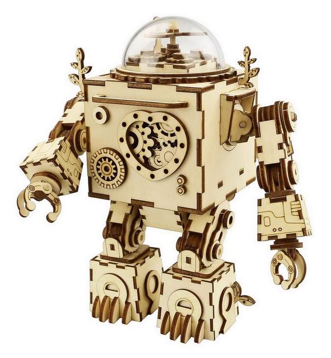 Orpheus music box robotics